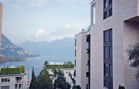 Luxury residential for sale in Central Europe. Modern apartment with high level finishing in the center of Lugano