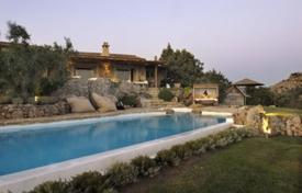 Luxury houses with pools for sale in Sardinia. Villa – San Pantaleo, Sardinia, Italy