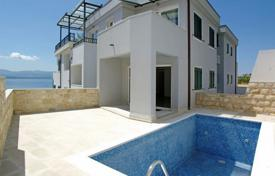 Furnished apartment with a swimming pool, a parking, terraces and a sea view, Brac, Croatia for 400,000 €