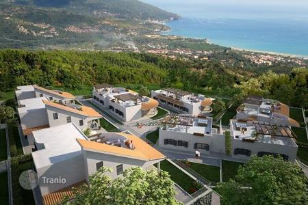 Off-plan houses with pools for sale in Europe. Villas and townhouses with garden, parking and sea views, in the new prestigious complex, in Calabria, 5 min from the center of Zambrone