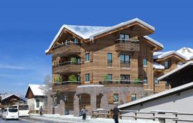 Apartments for sale in Auvergne-Rhône-Alpes. New five-room apartment in the ski resort of Morzine, Haute-Savoie, France