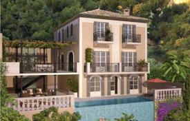 Off-plan houses with pools for sale in France. Three-storey villa in Beaulieu-sur-Mer