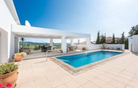 Bright villa with a terrace, a pool and sea views, near the golf course, Sotogrande, Andalusia, Spain for 1,950,000 €