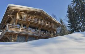 4 bedroom houses for sale in Megeve. New chalet — Clear view