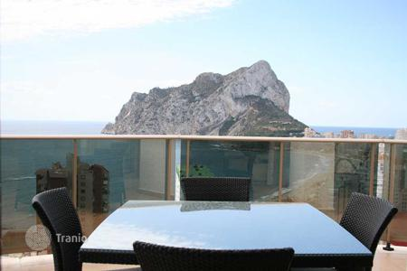 1 bedroom apartments by the sea for sale in Spain. Apartment with sea views in Calpe