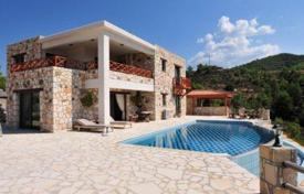 Luxury houses for sale in Agia Marina Chrysochous. Stone Villa With Riding Stables