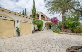 Houses for sale in Altea. Cozy two-level villa with a pool, a large garden and mountain views in Altea, Alicante, Spain
