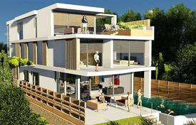 Luxury 5 bedroom houses for sale in Paphos. Modern villa with a terrace, a garden and sea views, near the beach, Chloraka, Paphos, Cyprus