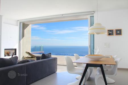 3 bedroom houses for sale in Valencia. Furnished premium villa, with panoramic views of the sea, with its own plot of land, Cumbre del Sol, Spain