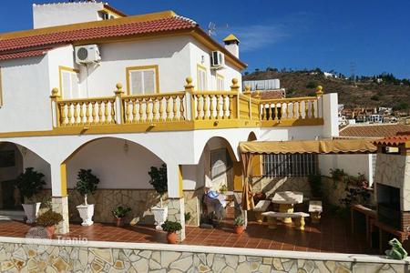 Houses for sale in Andalusia. Exclusive residence with panoramic view at the sea and mountains in historic part of the city, Malaga, Spain