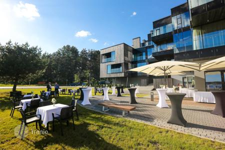 Apartments with pools for sale in Adazi Municipality. Modern apartment on the lake in the suburbs of Riga