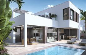 Houses with pools for sale in Pilar de la Horadada. New villa near the sea in Pilar de la Horadada, Alicante, Spain