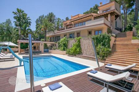 Residential for sale in Balearic Islands. Frontline villa to the Son Vida golf course, Son Vida, Mallorca, Spain