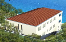 Coastal new homes for sale in Croatia. New apartments with different layouts, terraces, balconies, in a residence in a quiet district, on the first line to the sea, Trogir, Croatia