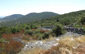 Development land for sale in Trogir. Spacious plot of land with a sea view and a permission to build a villa, Trogir, Croatia