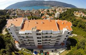 Apartments with pools for sale in Montenegro. The apartment is in a new residential complex with stunning views of sea and mountains in Herceg Novi, Montenegro