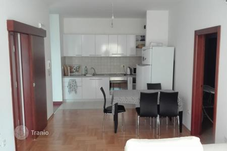 Residential for sale in Becici. Fully furnished two-bedroom apartment in a new building, 800 meters from the sea, Becici, Montenegro. Guaranteed rental income