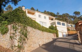6 bedroom houses for sale in Costa Brava. Comfortable villa with a swimming pool, a veranda, a garden and a guest house, Begur, Spain