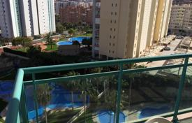 2 bedroom apartments by the sea for sale in Benidorm. Furnished apartment with terrace, in a residence with swimming pool, just 400 meters from the beach, in Benidorm, Spain