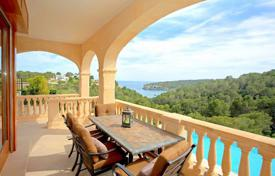 2 bedroom houses for sale in Balearic Islands. New villa with a private garden, a swimming pool, a parking and sea views, Sol de Mallorca, Spain