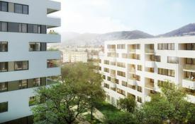 3 bedroom apartments for sale in Austria. Three-bedroom apartment with a balcony and panoramic view in Graz, for life or rent