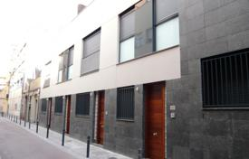 Coastal townhouses for sale in Catalonia. Terraced house – Barcelona, Catalonia, Spain