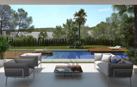 Apartments with pools for sale in Valencia. Apartment with private garden and sea view, in Las Colinas, Alicante, Spain