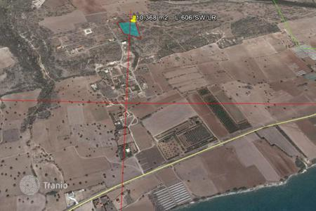 Development land for sale in Agios Theodoros. Agricultural Land with sea view