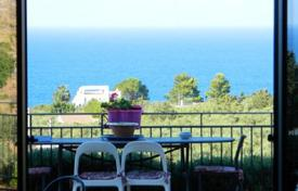 3 bedroom houses for sale in Scopello. Villa with a garden and a picturesque sea view in Cala Bianca bay, in Scopello, Sicily, Italy