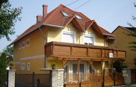 Residential for sale in Hungary. Two-level house with a garage near the lake, in Heviz, Hungary