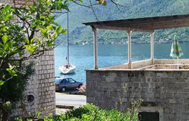 Houses for sale in Perast. Renovated furnished villa with a terrace, 20 meters from the sea, Perast, Montenegro