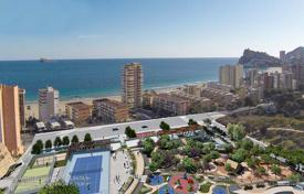 Apartments with pools for sale in Benidorm. Apartment 200 meters from the beach with fabulous sea views in Benidorm