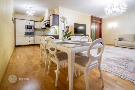 Residential for sale in the Czech Republic. Modern duplex apartment with its own front garden in the eighth district of Prague