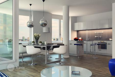 3 bedroom apartments for sale in Frankfurt am Main. Five-room apartment with a panoramic view of the city in a new building in the center of Frankfurt