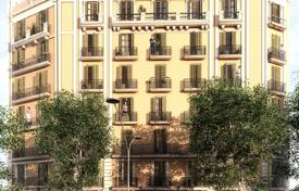 Residential for sale in Catalonia. Penthouse with a spacious terrace in a historical building with an elevator, close to Sagrada Familia cathedral, Eixample, Barcelona