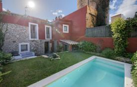 3 bedroom houses for sale in Gerona (city). Two-storey villa with a pool, in a quiet area, in the city center, Begur, Spain