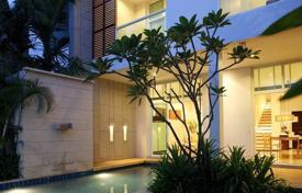 Townhouses for sale in Southeastern Asia. Two-story open plan condominium-style town-home meticulously designed with contemporary couples and families in mind
