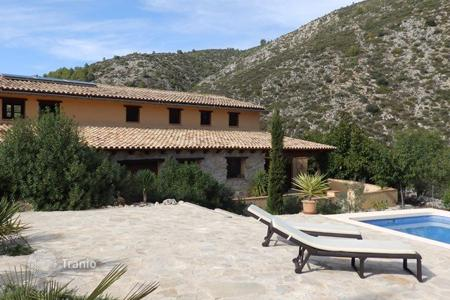 Houses for sale in Castell de Castells. Country Property of 4 bedrooms in Castell de Castells