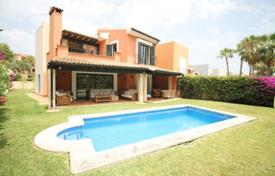 Houses with pools for sale in Spain. Villa with a private garden, a pool and a parking, Santa Ponsa, Spain