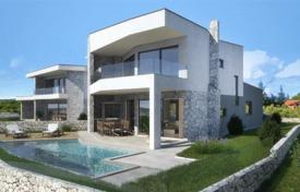 Coastal property for sale in Krk. Villa under construction on Krk