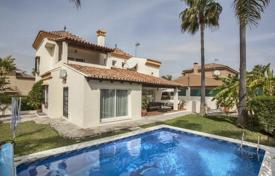 5 bedroom houses for sale in Spain. Three-level villa with a pool and recreation area between Nueva Andalucia and Puerto Banus, Costa del Sol