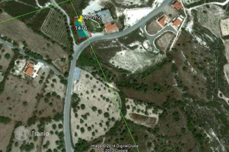 Land for sale in Pano Lefkara. Building Land