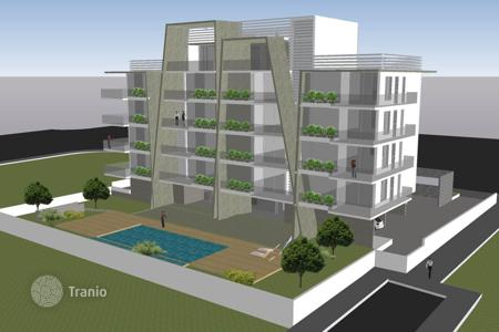 Residential for sale in Limassol. Apartments in a new residential complex with a pool and a parking, at 500 meters from the sea, Limassol, Cyprus. High rental potential!