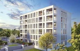 New homes for sale in Bavaria. Three bedroom apartment with loggia in a new building in a prestigious district of Allach-Untermenzing, Munich