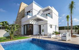 Cheap townhouses for sale in Valencia. Modern Semi-Detached Villas in Orihuela Costa
