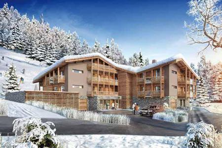 3 bedroom apartments for sale in Auvergne-Rhône-Alpes. Comfortable apartment with stunning views over the valley and slopes in a new residential complex in Les Gets, French Alps, France