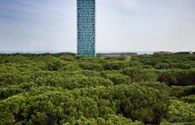 Apartments for sale in Veneto. The Tower of 24 floors, for residential use, is the dominant sign of the whole project