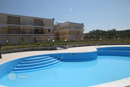 Apartments with pools by the sea for sale in Italy. Apartments in the resort with panoramic views of the sea in Calabria
