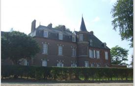 Chateaux for sale in France. Historic castle with additional buildings and a picturesque park, 30 minutes drive from English Channel, Rouen, France