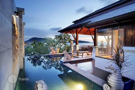 Houses for sale in Southeast Asia. Two-storey villa with pool and stunning sea views in the area of Patong, Phuket